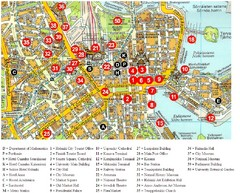 Helsinki City Center Map