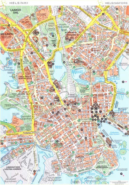 Helsinki center 1 Map