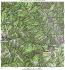 Henry Willard Coe State Park Topographical Map
