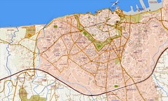 Heraklion Street Map