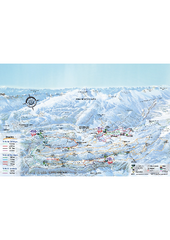Herbouilly Ski Trail Map