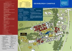 Heriot Watt University Map