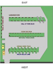 Heritage Acres RV Park Map