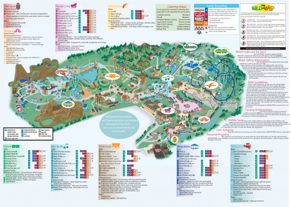 Hershey Park Official Map