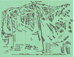 Hesperus Ski Area Ski Trail Map