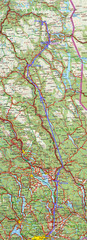 Hessdal and Oslo, Norway Map