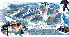 Hidden Valley Ski Trail Map