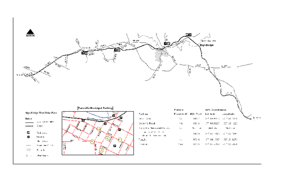 High Bridge Trail Map