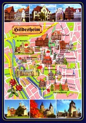Hildesheim Tourist Map
