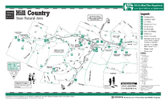 Hill Country, Texas State Park Facility and Trail...
