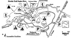 Hillsborough River State Park Map
