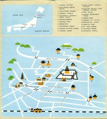 Hirosaki Japan Tourist Map