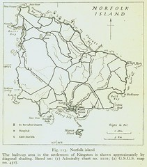 Historic Norfolk Island Map