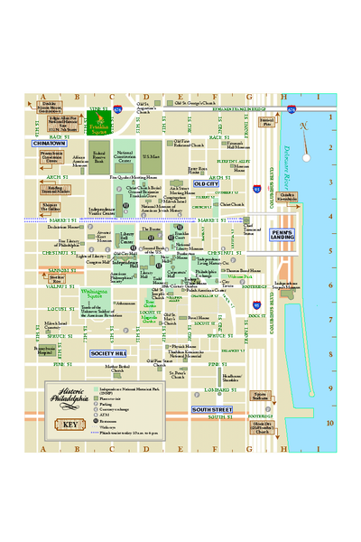 Images And Places Pictures And Info Philadelphia Map Pdf