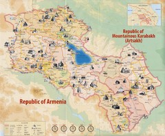 Historical Monuments of Armenia and Nagorny...