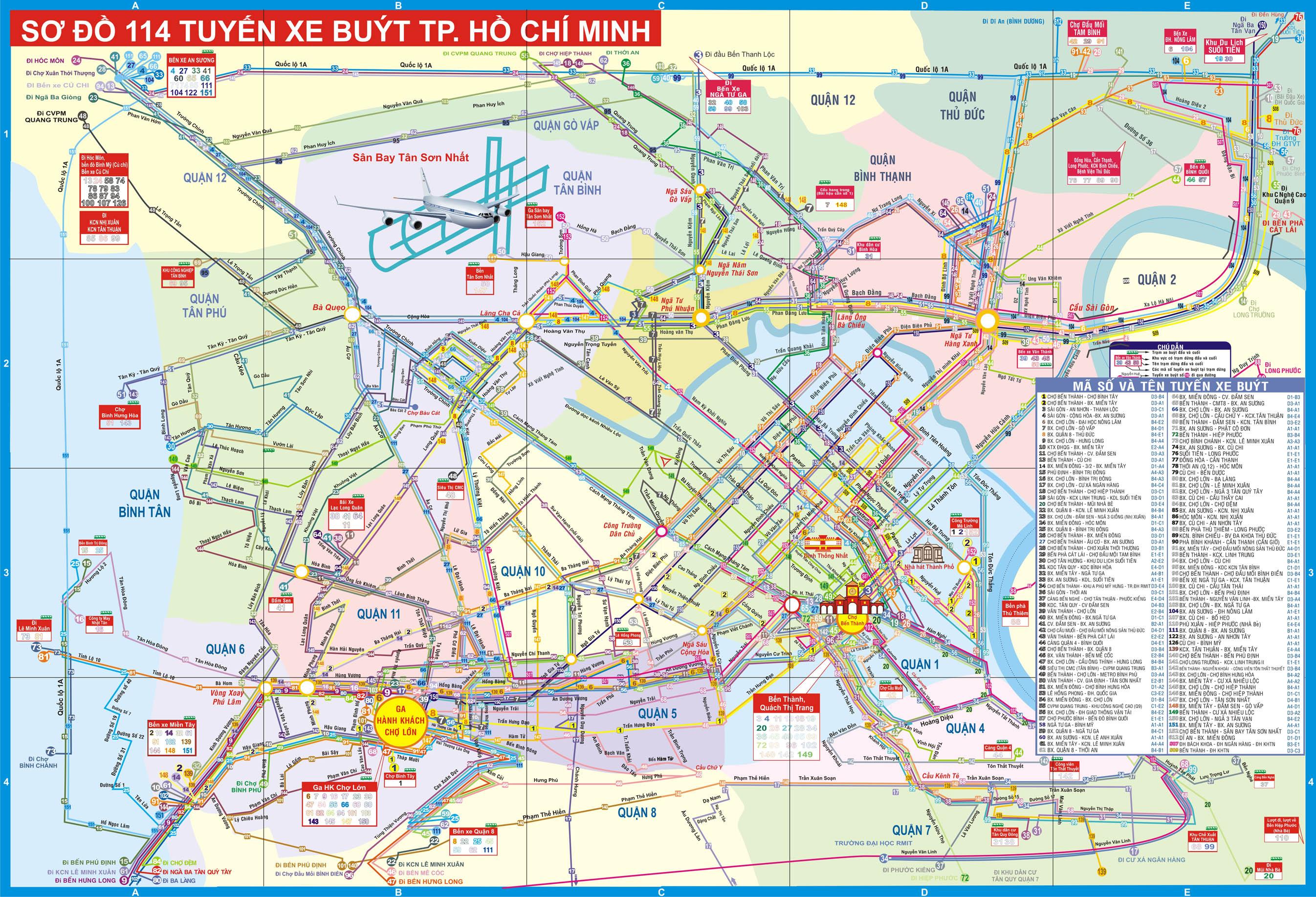 Ho Chi Minh Tourist Map Ho Chi Minh Mappery