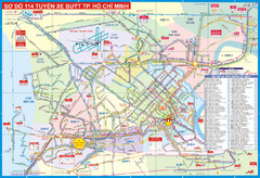 Ho Chi Minh Tourist Map