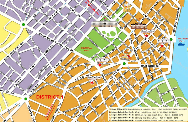 Ho Chi Minh Tourist Map Ho Chi Minh mappery – Tourist Map Of Ho Chi Minh City