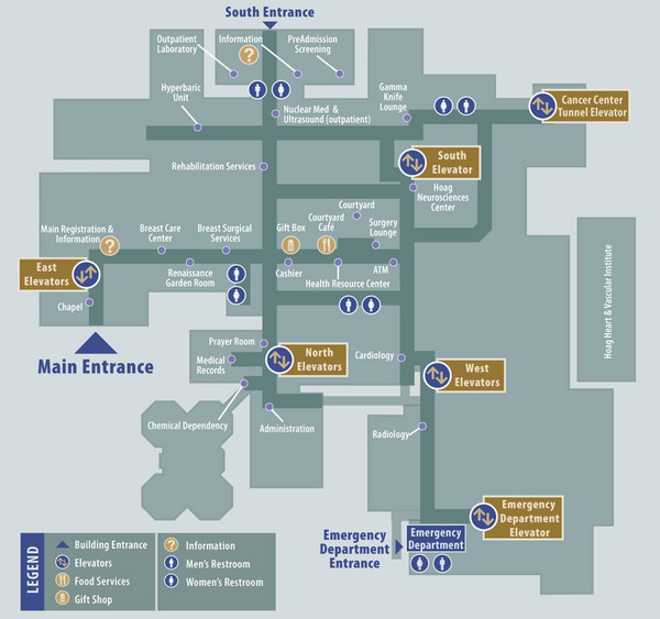 Hoag Hospital Map - One Hoag Drive Newport Beach CA • mappery