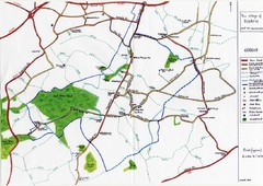 Hoath Town Map