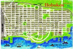 Hoboken Walking Tour map