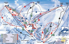 Hochkar Ski Trail Map