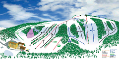 Hockley Valley Resort Ski Trail Map