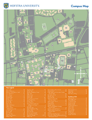 Hofstra University Campus Map