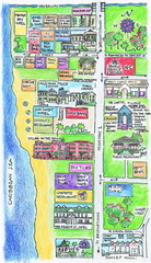 Holetown Tourist Map