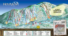 HoliMont Ski Trail Map