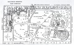 Hollywood Memorial Cemetery map