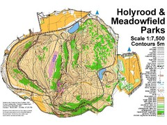 Holyrood Park Map