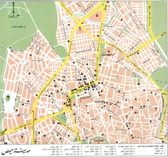 Homs City Map