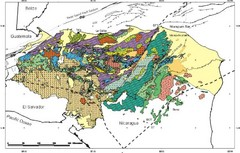 Honduras Geology Map