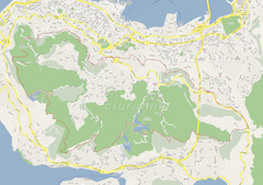 Hong Kong West Running Map