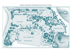 Honolulu Hilton Map