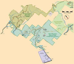 Hood Mountain Regional Park Map and Sugarloaf...