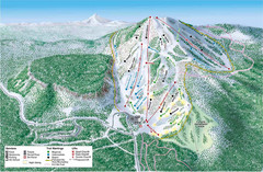 Hoodoo Mountain Ski Trail Map