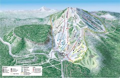 Hoodoo Ski Area Ski Trail Map