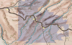 Hopi Reservation Map
