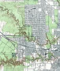 Houston Street and House level Map