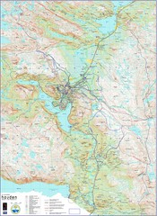 Hovden Norway Trail Map