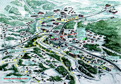 Hovden Town Map