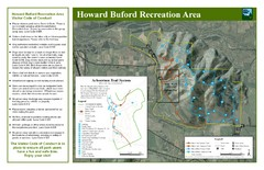 Howard Buford Recreational Area Trails Map