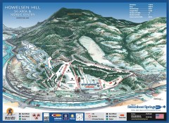 Howelsen Hill Ski Trail Map