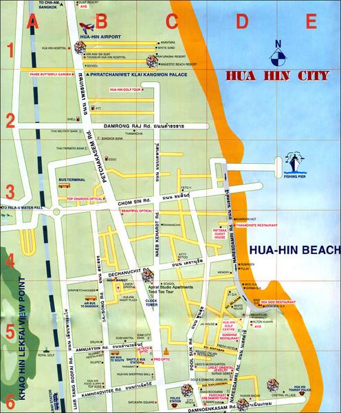 hua hin tourist information