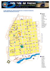 Huancayo Center Map