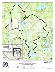 Hubbardston WMA Map