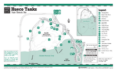 Hueco Tanks, Texas State Park Facility and Trail...