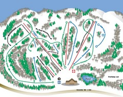 Huff Hills Ski Trail Map